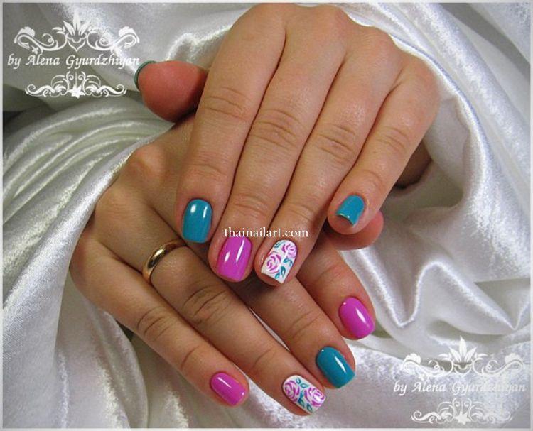 Rose Nails