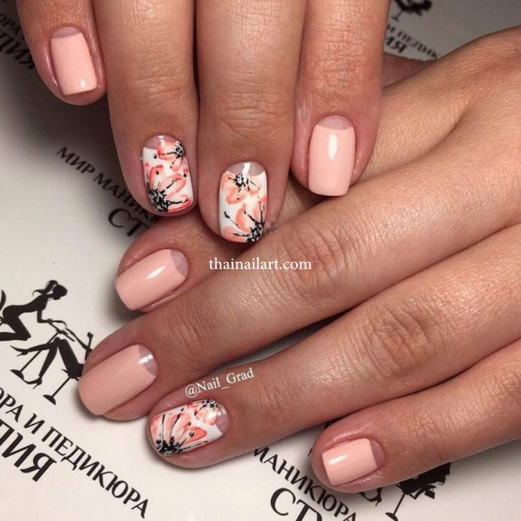 flowers-nails