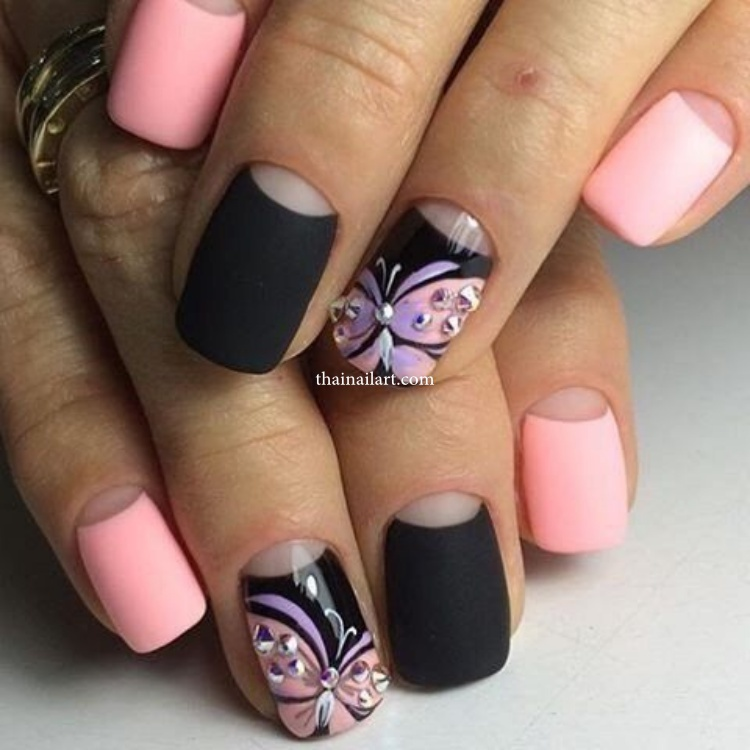 butterfly-nails
