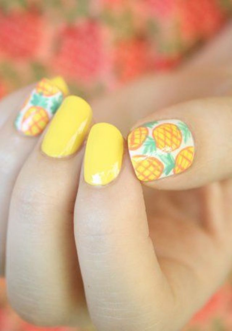 pineapple-nails