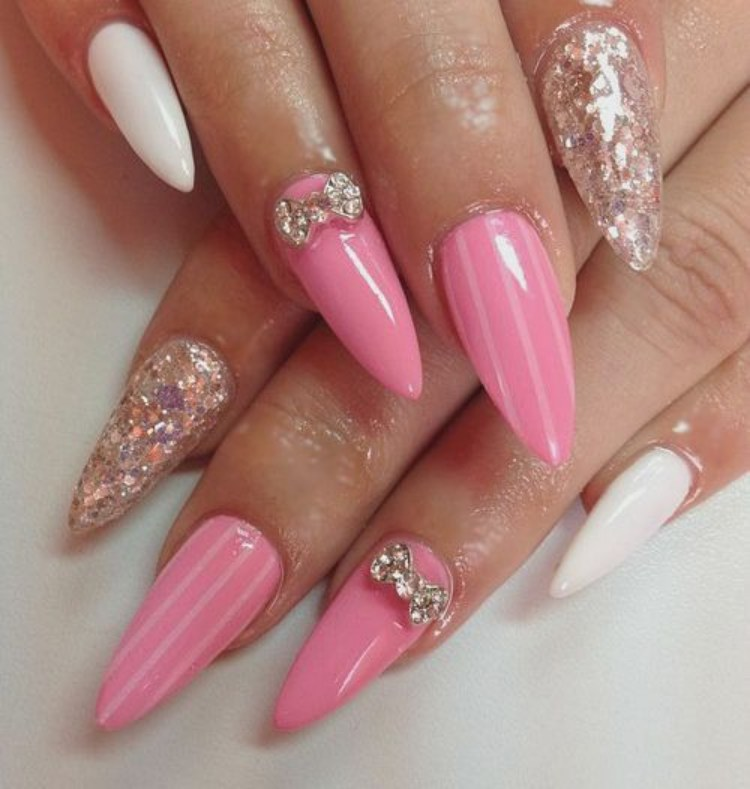 American nail art fashion