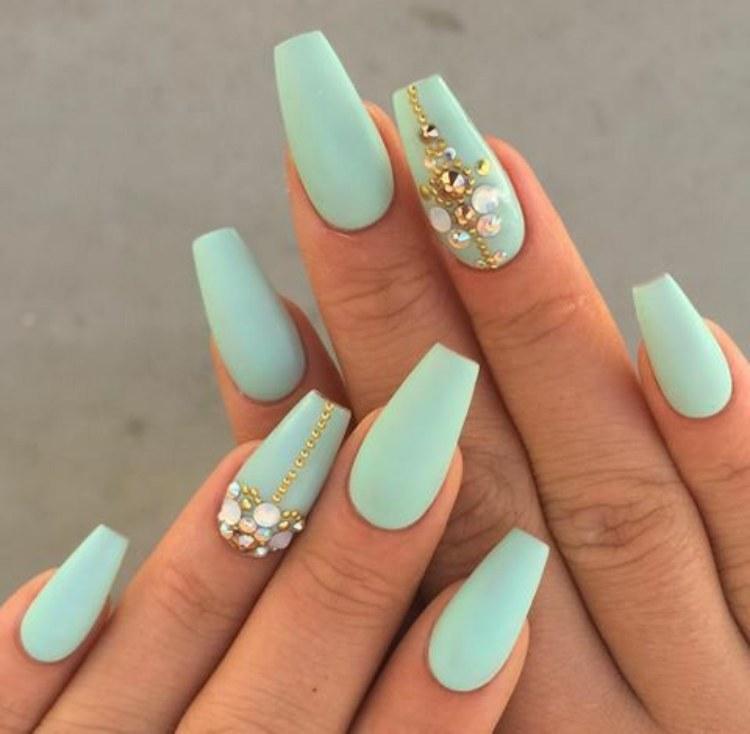 American nail art fashion