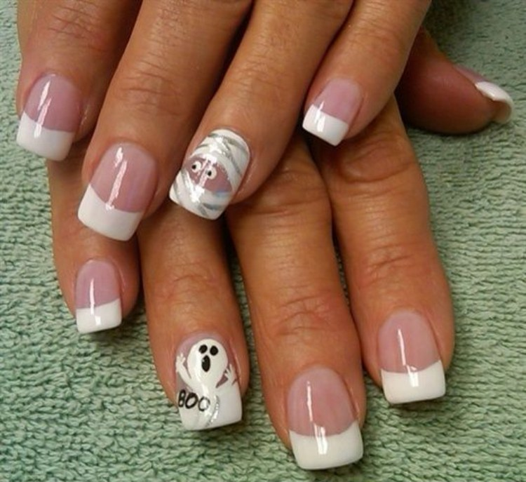 Children nail art