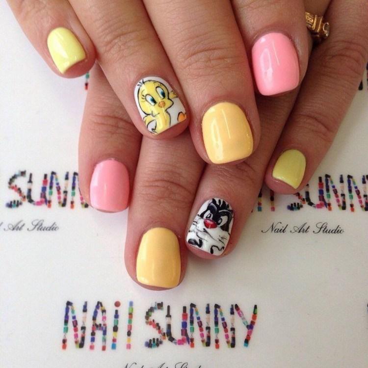 Children nail art