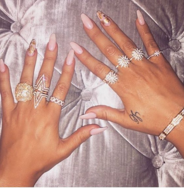Khole Kardashian nails
