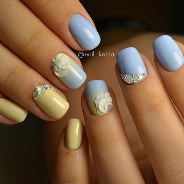 Russian nail art fashion