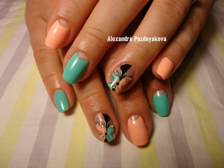 Buttefly Nails