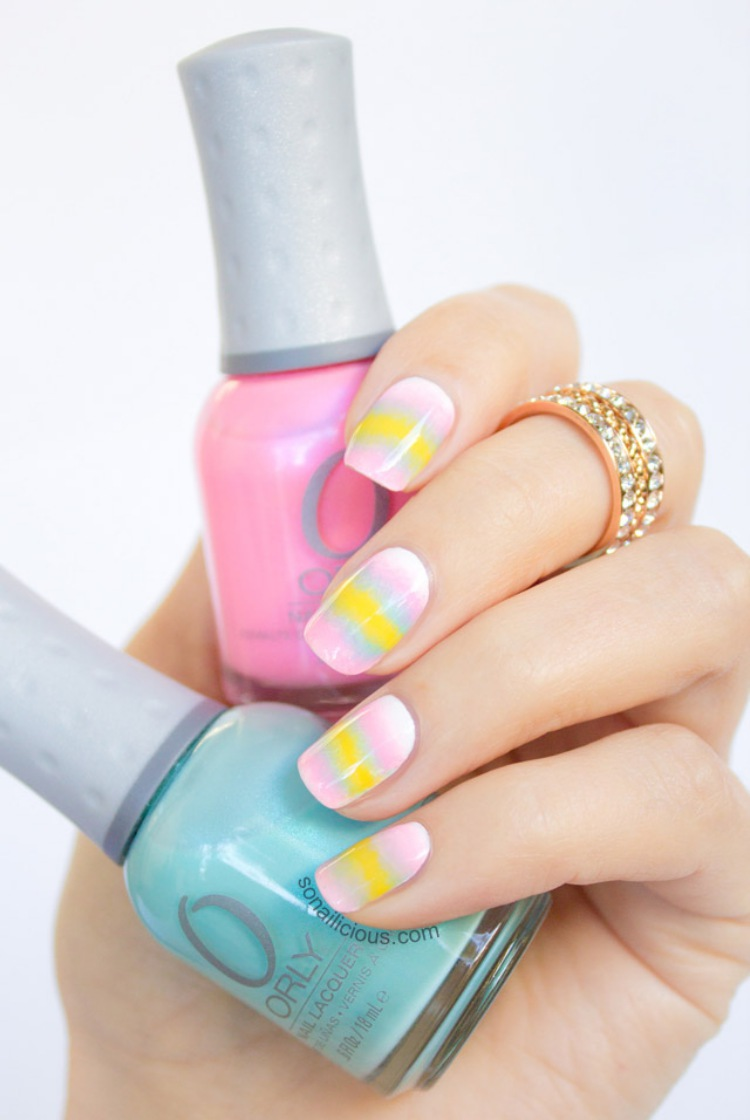 Easter nail art OPI1