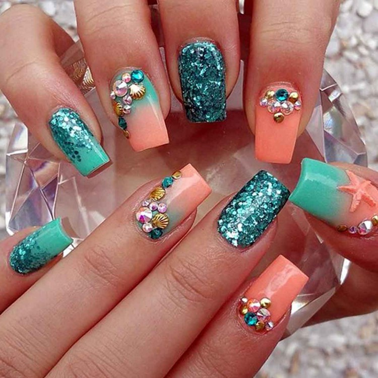 Mermaid Nail