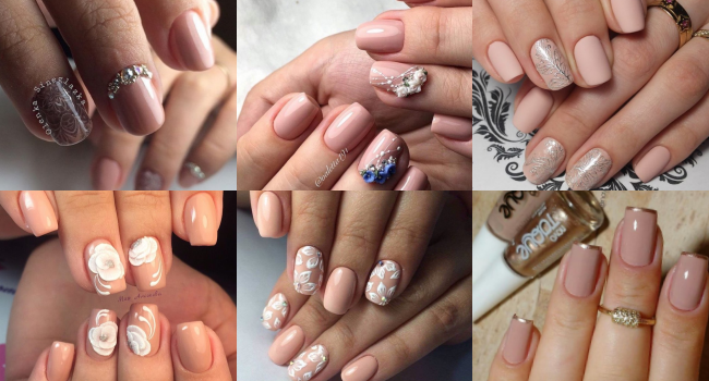 Nude Gel Nail cover