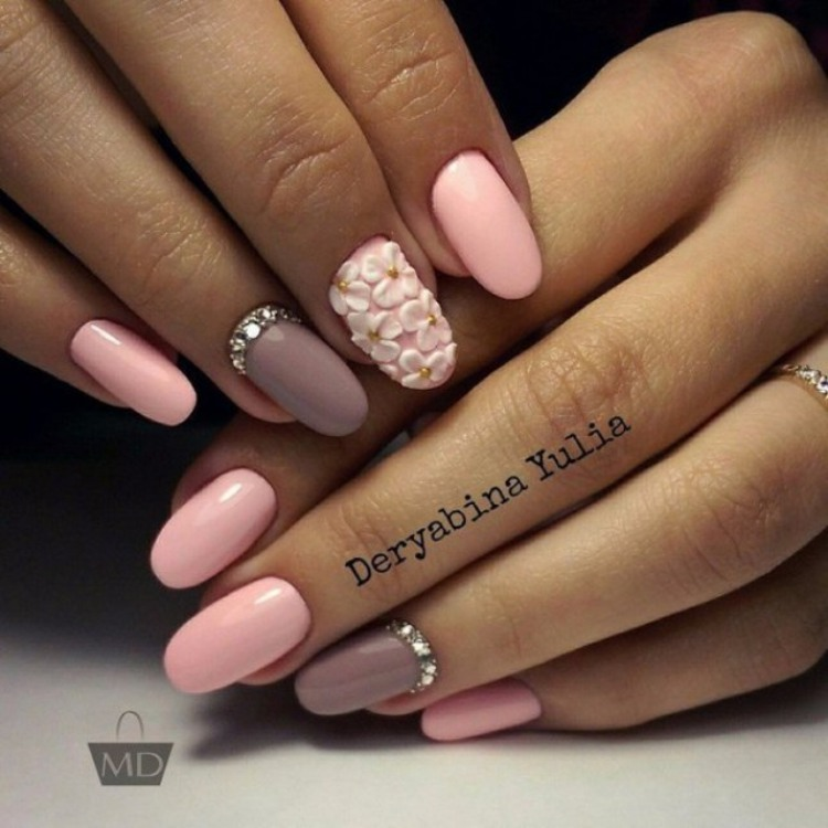 Pink Gel Nail ideas