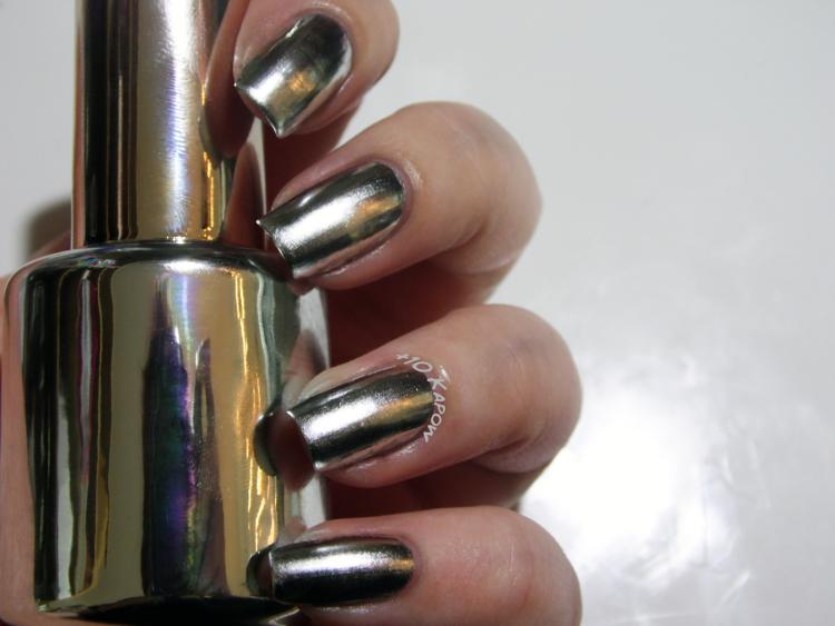 ไอเดียการเพ้นท์เล็บเจล แบบเล็บเจล เล็บกระจก เล็บเจลสะท้อนเงา Mirror Gel Nails31