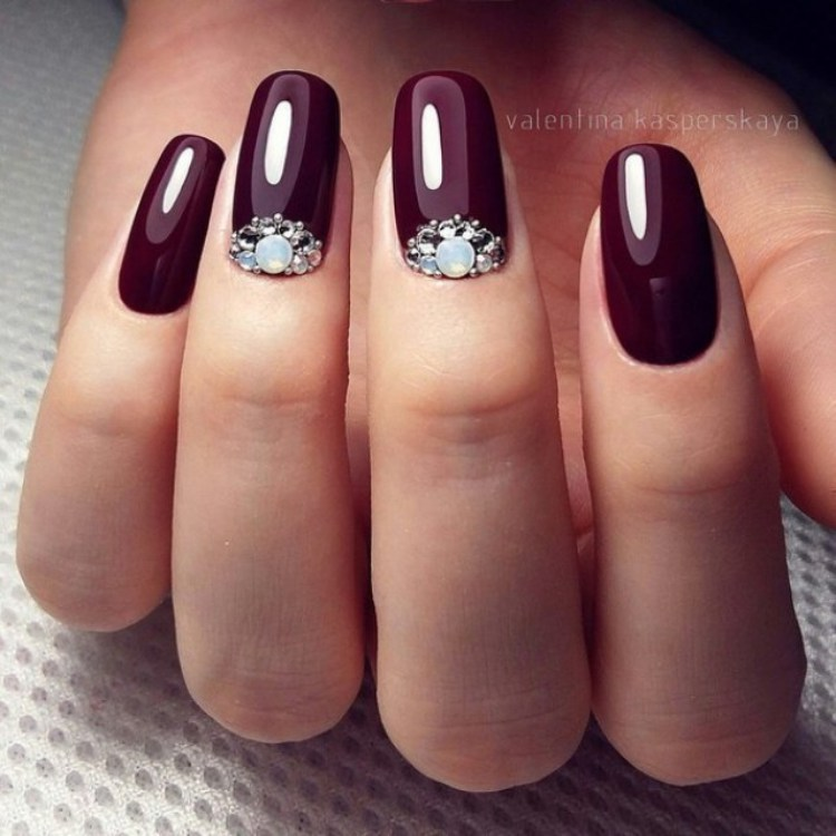 Winter Gel Nails