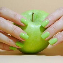เล็บเจล สีเขียว